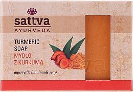 Düfte, Parfümerie und Kosmetik Körperseife mit Kurkuma - Sattva Ayurveda Turmeric Soap
