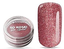 Düfte, Parfümerie und Kosmetik Nagelpuder - Silcare So Rose So Gold