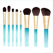 Düfte, Parfümerie und Kosmetik Make-up Pinselset 8 tlg. - Nabla Aquamarine Essential Brush Set