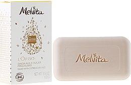 Düfte, Parfümerie und Kosmetik Duftseife für Körper und Gesicht mit 5 wertvollen Ölen - Melvita L'Or Bio Soap