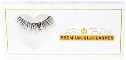 Düfte, Parfümerie und Kosmetik Künstliche Wimpern - Lash Brow Premium Silk Lashes All Day Long