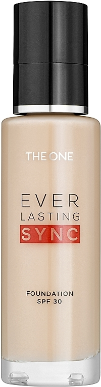 Foundation SPF 30 - Oriflame The One Everlasting Sync SPF 30