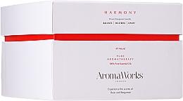 Düfte, Parfümerie und Kosmetik Duftkerze im Glas mit 3 Dochten Harmonie - AromaWorks Harmony Candle 3-wick