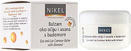 Düfte, Parfümerie und Kosmetik Augen- und Lippenkonturen-Balsam mit Mandelöl - Nikel Eye and Lip Contour Balm
