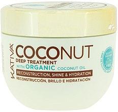 Düfte, Parfümerie und Kosmetik Regenerierende Haarmaske - Kativa Coconut Oil Mask