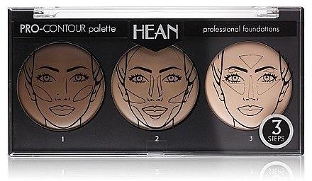 Konturierpalette mit 3 Farben - Hean Pro-Countour Palette — Bild N1