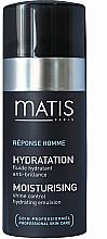 Düfte, Parfümerie und Kosmetik Feuchtigkeitsspendende Gesichtsemulsion für mattes Hautaussehen - Matis Reponse Homme Moisturising Shine Control Hydrating Emulsion