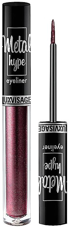 Eyeliner - Luxvisage Metal Hype Eyeliner
