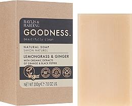 Düfte, Parfümerie und Kosmetik Naturseife Lemongrass & Ginger - Baylis & Harding Goodness Sea Lemongrass & Ginger Natutal Soap