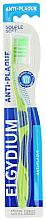 Düfte, Parfümerie und Kosmetik Zahnbürste weich Anti-Plaque grün - Elgydium Anti-Plaque Soft Toothbrush