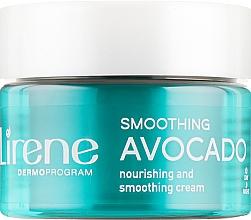 Düfte, Parfümerie und Kosmetik Regenerierende Gesichtscreme mit Avocado, Hyaluronsäure und Algen - Lirene Moisture and Nourishment Cream