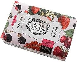 Düfte, Parfümerie und Kosmetik Parfümierte Körperseife - Panier Des Sens Extra Gentle Natural Soap with Shea Butter Red Berries