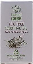 Düfte, Parfümerie und Kosmetik Ätherisches Öl Teebaum - Bulgarian Rose Herbal Care Tea Tree Essential Oil