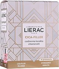 Düfte, Parfümerie und Kosmetik Gesichtspflegeset - Lierac (Gel-Creme gegen Falten 40ml + Creme-Gel 50ml)