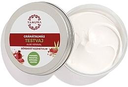 Düfte, Parfümerie und Kosmetik Masło do ciała Granat i aloes - Yamuna Pomegranat Aloe Vera Body Butter