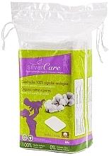 Düfte, Parfümerie und Kosmetik Bio-Baumwoll-Wattepads 60 St. - Silver Care Cotton Squares
