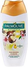 """Düfte, Parfümerie und Kosmetik Duschmilch """" Macadamia und Kakao"""" - Palmolive Naturals Smooth Delight Shower Milk"""