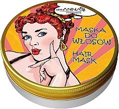 Düfte, Parfümerie und Kosmetik Maske für trockenes und stumpfes Haar mit kosmetischem Kerosin und Arganöl - New Anna Cosmetics Retro Hair Mask