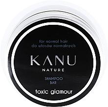 Düfte, Parfümerie und Kosmetik Shampoo für normales Haar in Metallbox - Kanu Nature Shampoo Bar Toxic Glamour For Normal Hair
