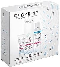 Düfte, Parfümerie und Kosmetik Gesichtspflegeset - Dermedic Angio (Gesichtscreme 40ml + Gesichtscreme 7ml + Mizellenwasser 100ml)
