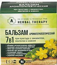 Düfte, Parfümerie und Kosmetik Aromatherapeutischer 7in1 Balsam gegen Erkältung mit Eukalyptus, Menthol und Anis - ECO Laboratorie Herbal Therapy
