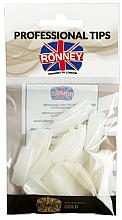 Düfte, Parfümerie und Kosmetik Nageltips Größe 4 creme - Ronney Professional Tips