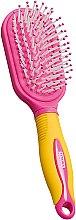 Düfte, Parfümerie und Kosmetik Massage-Haarbürste für Kinder gelb-rosa - Titania