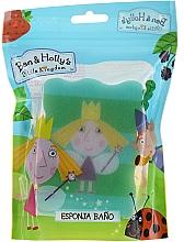 Düfte, Parfümerie und Kosmetik Kinder-Badeschwamm Ben & Holly Holly hellgrün - Suavipiel Ben & Holly Bath Sponge