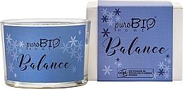 Düfte, Parfümerie und Kosmetik Bio-Duftkerze Balance - PuroBio Home Organic Balance
