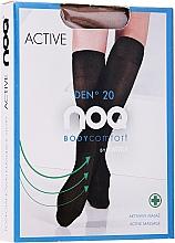 Düfte, Parfümerie und Kosmetik Damenkniestrümpfe mit Fußmassageeffekt Active 20 Den visione - Knittex