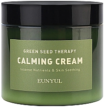 Düfte, Parfümerie und Kosmetik Pflegende Anti-Irritation Gesichtscreme mit Extrakten aus grünen Pflanzen - Eunyul Green Seed Therapy Calming Cream