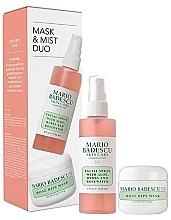 Düfte, Parfümerie und Kosmetik Gesichtspflegeset - Mario Badescu Rose Mask & Mist Duo Set (Gesichtsmaske 56g + Gesichtsspray 118ml)