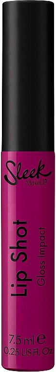 Lipgloss - Sleek MakeUP Lip Shot Gloss Impact
