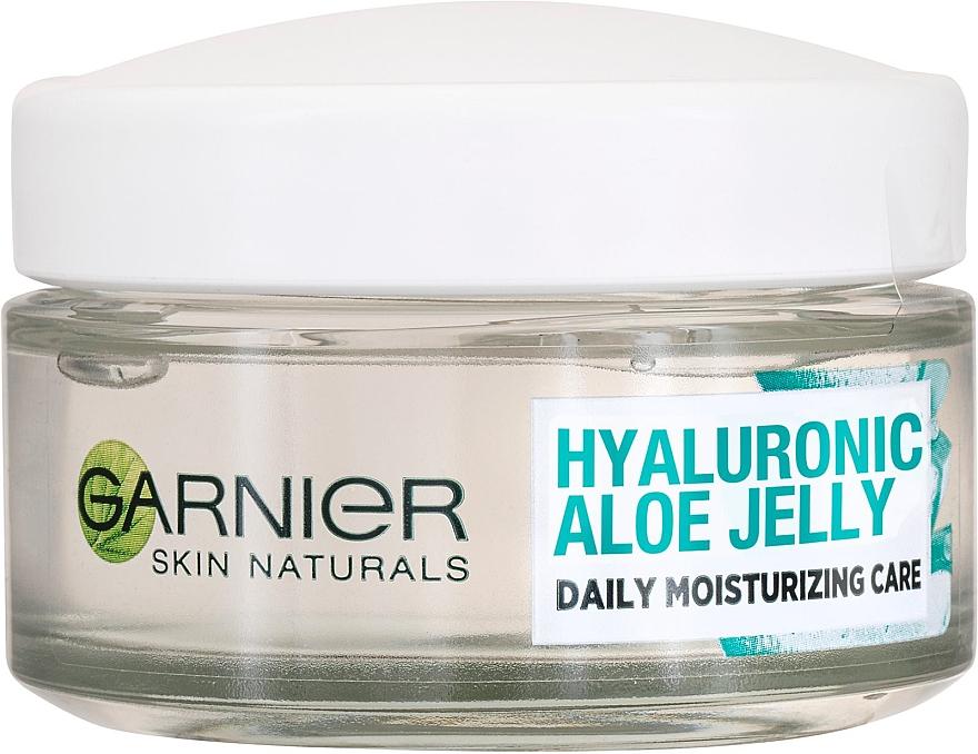 Feuchtigkeitsspendendes Gesichtscreme-Gel mit Hyaluronsäure und Aloe - Garnier Skin Naturals Hyaluronic Aloe Jelly Cream
