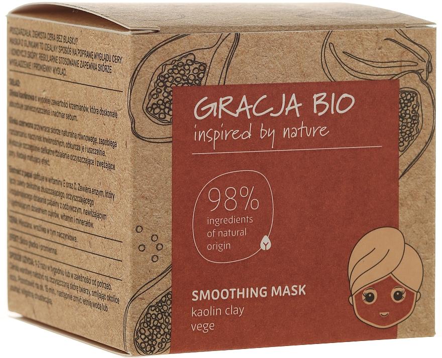 Glättende Gesichtsmaske mit Kaolin - Gracja Bio Smoothing Mask