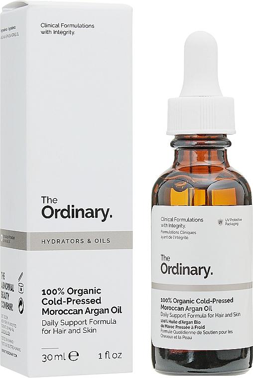 Kaltgepresstes marokkanisches Bio Arganöl für Haar und Körper - The Ordinary 100% Organic Cold-Pressed Moroccan Argan Oil