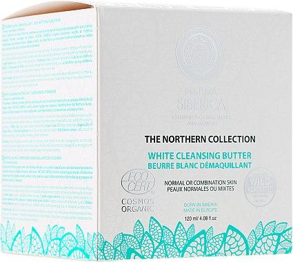 Weiße Reinigungsbutter für normale und Mischhaut - Natura Siberica The Northern Collection White Cleansing Butter
