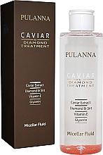 Düfte, Parfümerie und Kosmetik Mizellen-Fluid für das Gesicht mit Kaviar-Extrakt - Pulanna Caviar Micellar Fliud