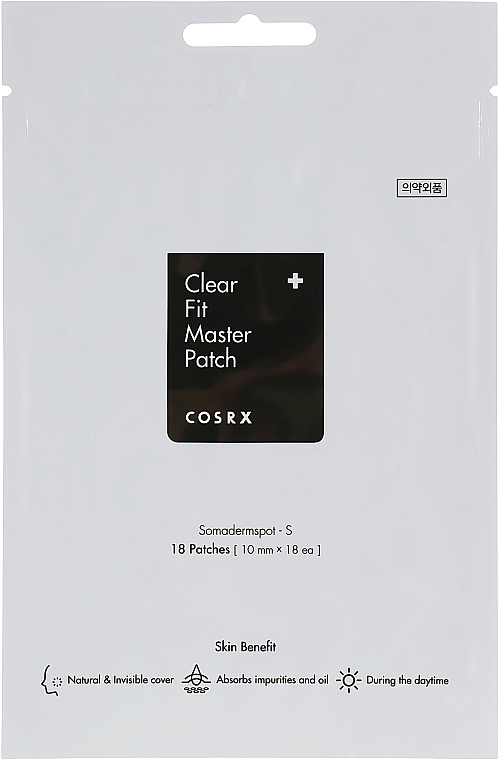 Anti-Akne Gesichtspatches - Cosrx Clear Fit Master Patch