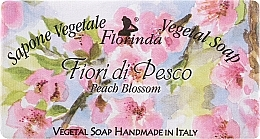 Düfte, Parfümerie und Kosmetik Naturseife Pfirsichblüten - Florinda Sapone Vegetal Soap Peach Blossom