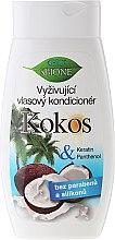 Düfte, Parfümerie und Kosmetik Pflegende Haarspülung mit Kokosöl - Bione Cosmetics Coconut Nourishing Conditioner
