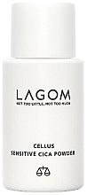 Düfte, Parfümerie und Kosmetik Beruhigender und seboregulierender Cica-Puder für das Gesicht - Lagom Cellus Sensitive CICA Powder
