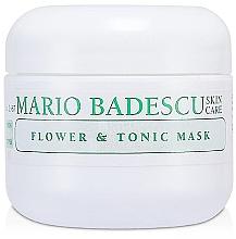 Düfte, Parfümerie und Kosmetik Sanfte seboregulierende und erfrischende Gesichtsmaske mit Gardenienextrakt - Mario Badescu Flower & Tonic Mask