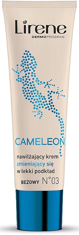 Feuchtigkeitsspendende Tönungscreme - Lirene Cameleon