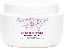 Düfte, Parfümerie und Kosmetik Aufhellende Haarmaske mit Arganöl und Honig - Renee Blanche