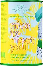 Düfte, Parfümerie und Kosmetik Gesichtspflegeset - Drunk Elephant Nice to Meet You (cr/15ml + clean/22g + boost/1g)