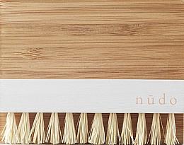 Düfte, Parfümerie und Kosmetik Bambus-Nagelbürste mit Sesamfasern - Nudo Nature Made Bamboo Nail Brush With Sisal Bristles