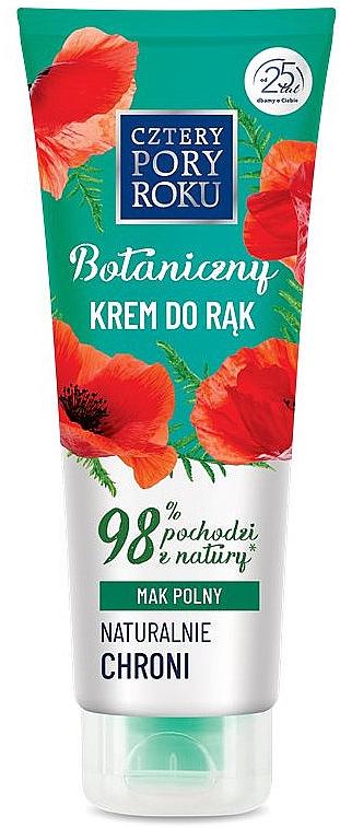 Handschutzcreme mit Mohnfeld - Cztery Pory Roku Botanical Protective Hand Cream
