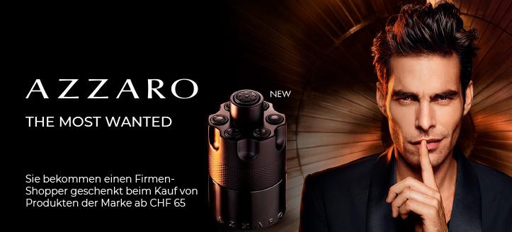 Bei Bestellung von Azzaro Produkten ab CHF 65 bekommen Sie einen Firmen-Shopper geschenkt