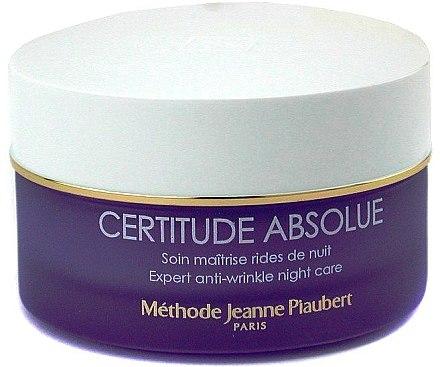 Anti-Falten Nachtcreme - Methode Jeanne Piaubert Certitude Absolue Expert Anti-Wrinkle Night Care